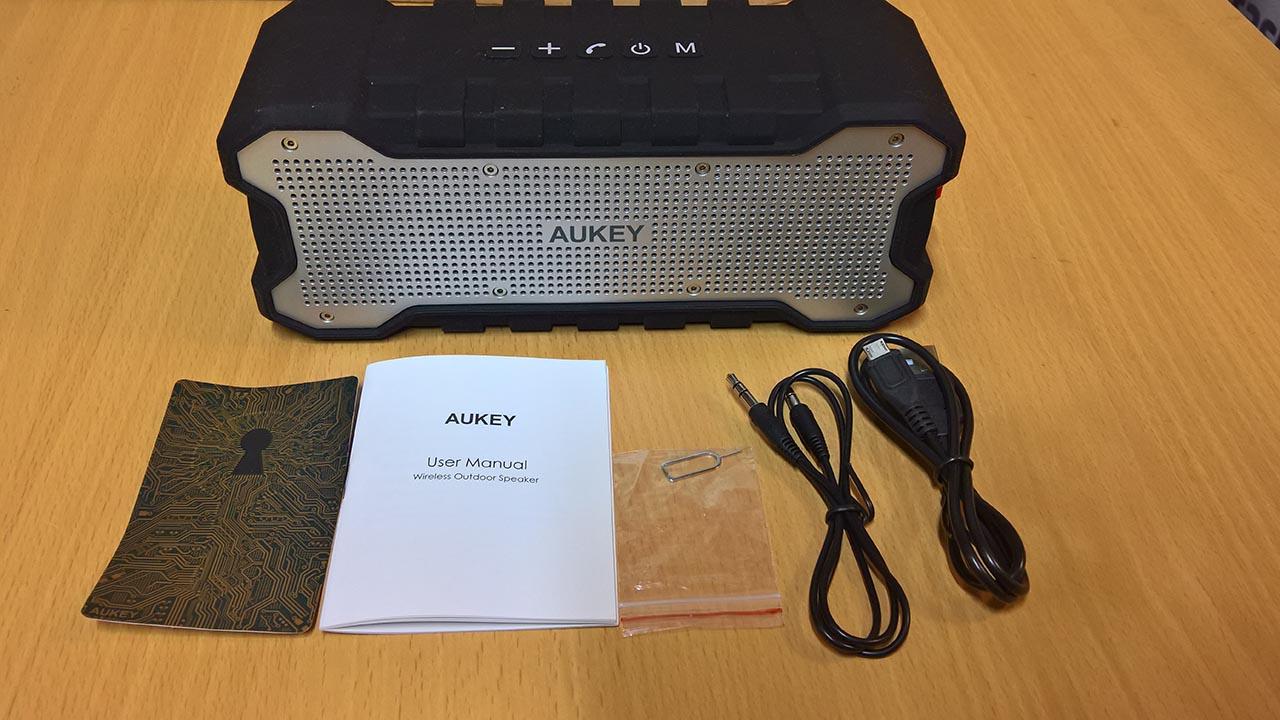 Aukey SK M12: lo speaker impermeabile con bassi profondi