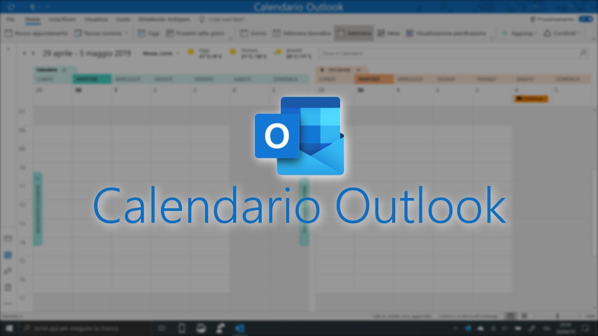 Calendario Outlook.Calendario Outlook Le Novita In Arrivo A Maggio Windows