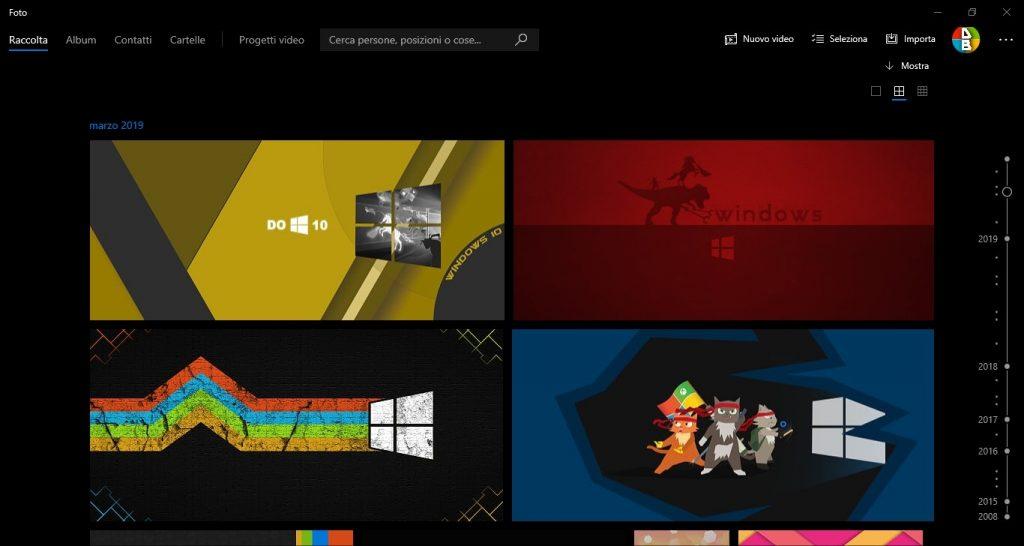 Microsoft Foto si aggiorna: UI migliorata [Insider]