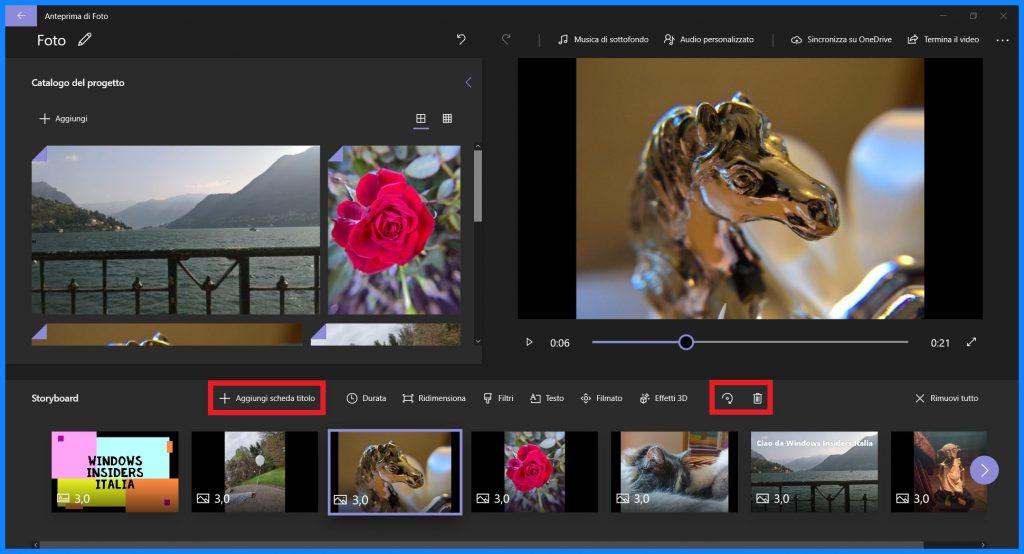 Microsoft Foto si aggiorna: miglioramenti per l'editor video