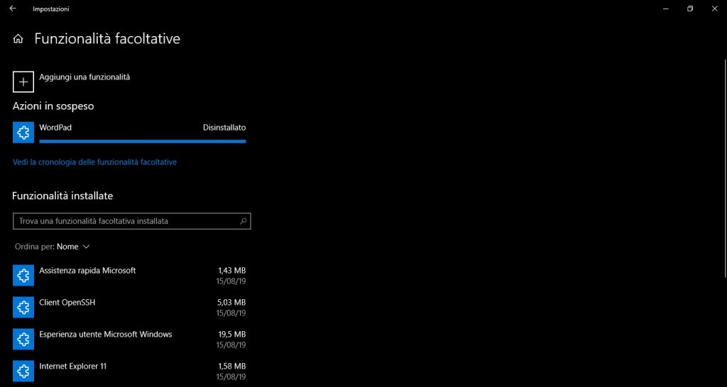 Windows 10 20H1: principali novità build 18963