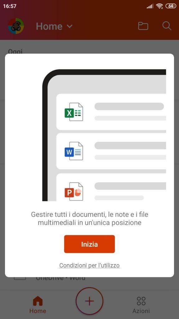 Microsoft Office |  disponibile l'app unificata per Android Agg  iOS