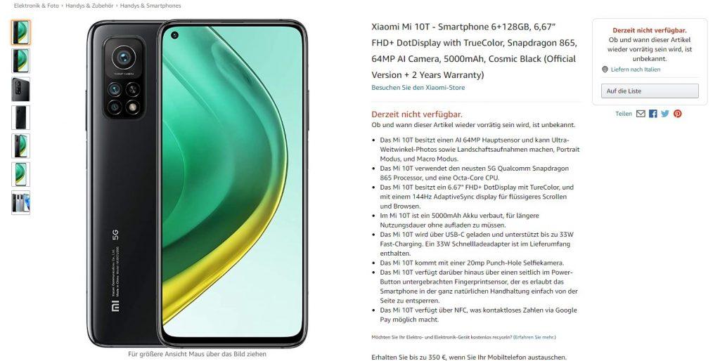 Mi 10T e 10T Pro: cambio della linea Xiaomi [Agg.]